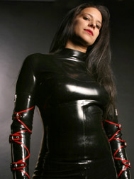 Rubber Mistress Sable - Los Angeles Dominatrix - Enter Site